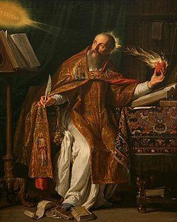 St. Augustine, by Philippe de Champaigne