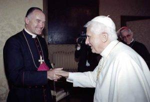 Bishop Fellay and Pope Benedict XVI