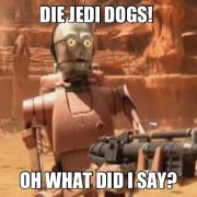 die jedi dogs