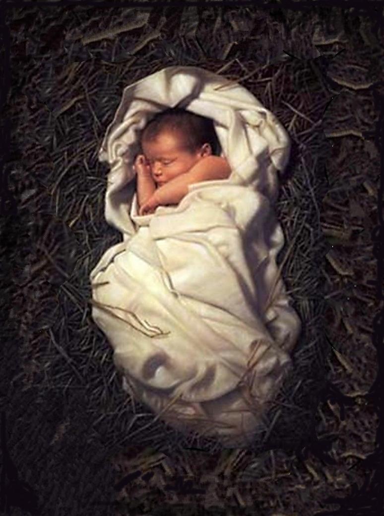 baby jesus in manger team orthodoxy