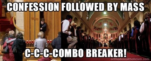 confession x mass