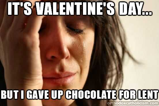 no chocolate for lent