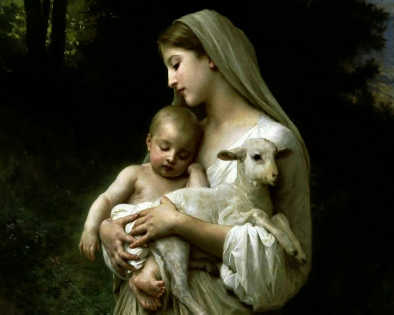 Blessed Virgin Mary Mothe Of Innocence