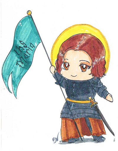 St.Joan of Arc Chibi