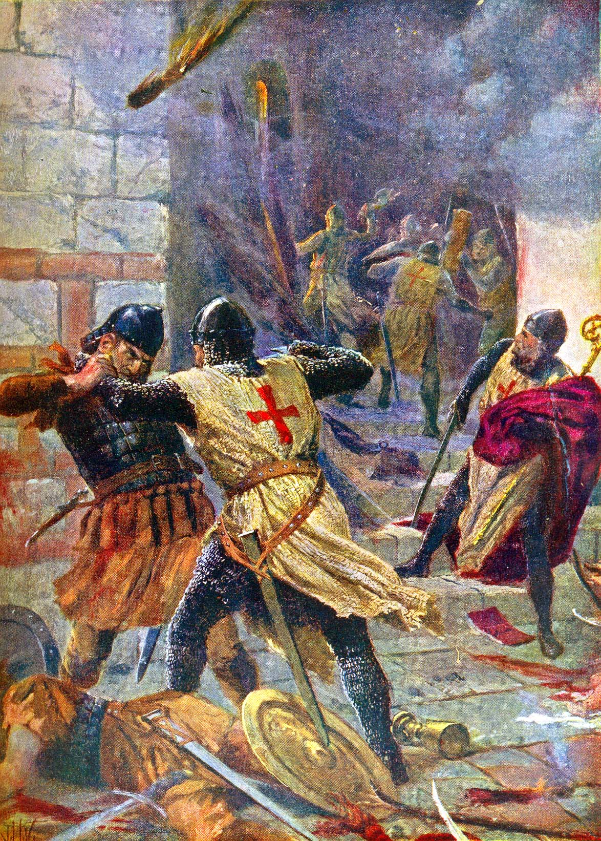 essay on sack of constantinople 1204 Constantine, xi - biography from the latins and heroically commanded the futile defense of constantinople against the died bravely during the ensuing sack.