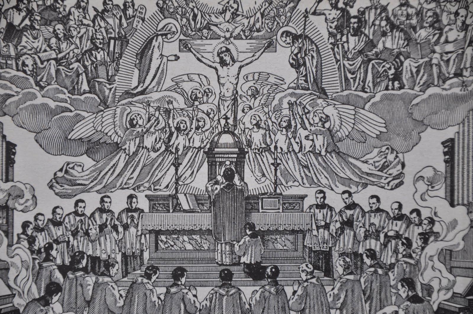 Resultado de imagem para missa gregoriana