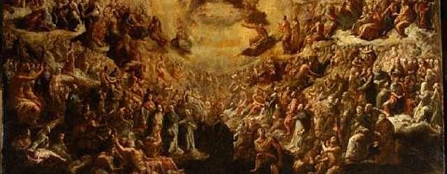 Resultado de imagem para catholic saints in heaven